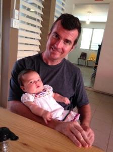 Daddy and Gabriela